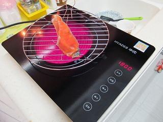 魚焼きに使える!