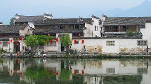 典型的安徽省様式の建物