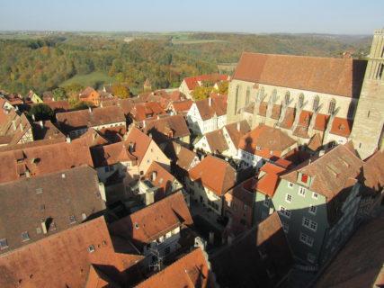 塔からの景色の写真