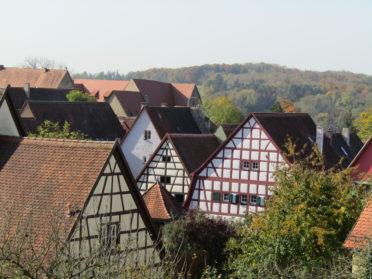 城壁からの景色