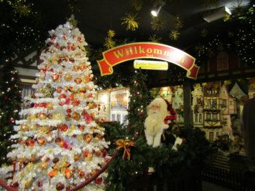 クリスマスの店の写真