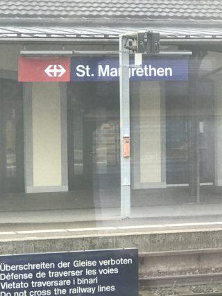 セントマルガレーテン駅の写真