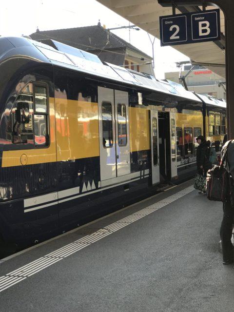 インターラーケン・オスト駅の写真