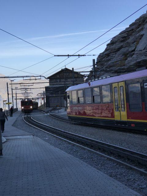 アイガーグレッチャー駅の写真