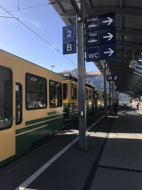 ヴェンゲン駅の写真