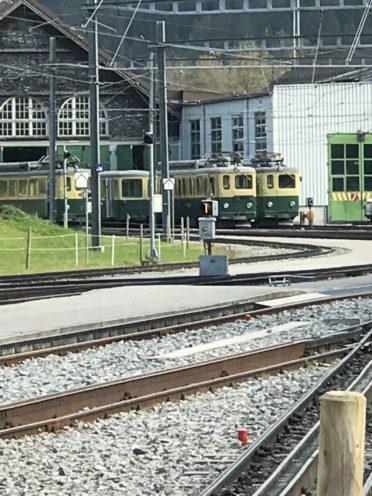 グルンド電車庫の写真