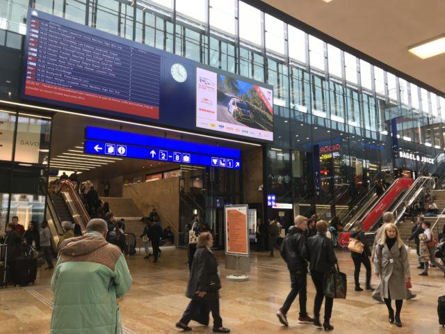 ジュネーブ駅の写真
