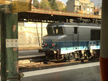 電気機関車の写真
