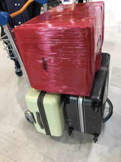大荷物の写真