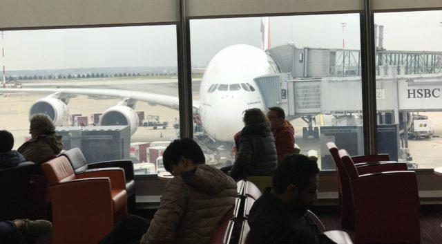 A380(CDGにて)の写真