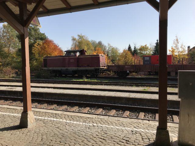 ローテンブルクの駅の写真
