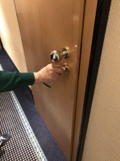 ホテルの部屋の鍵の写真
