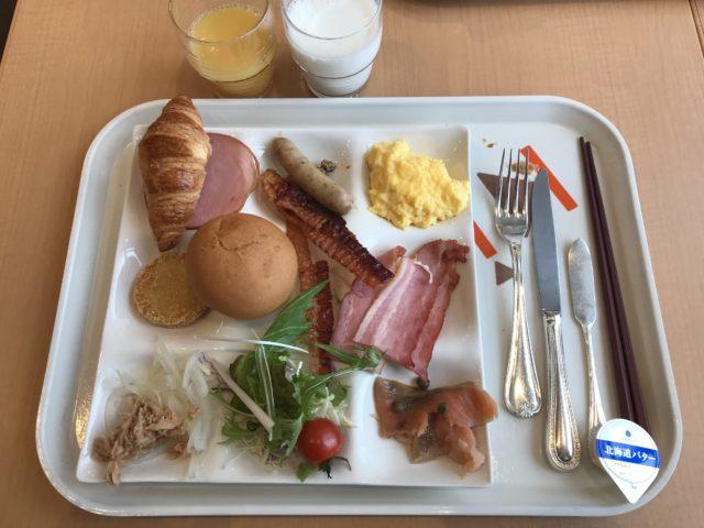 ホテル朝食の写真