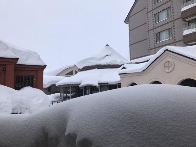 ホテルの雪の写真