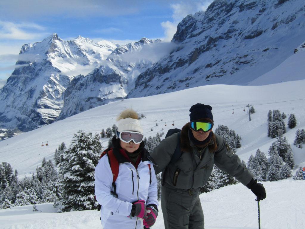 スイススキーの写真