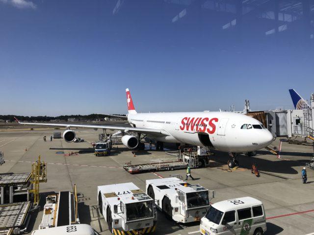 スイス航空機の写真