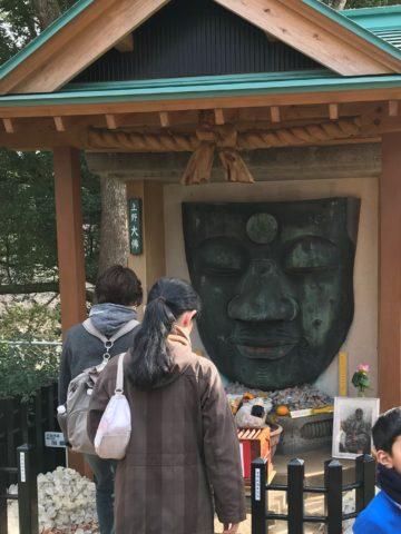 上野大仏の写真