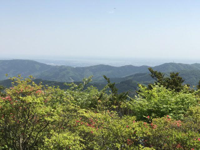 つつじヶ丘高原からの眺望の写真