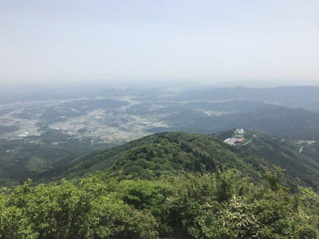 山頂からの眺めの写真